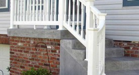 Custom Curved Stair Railing